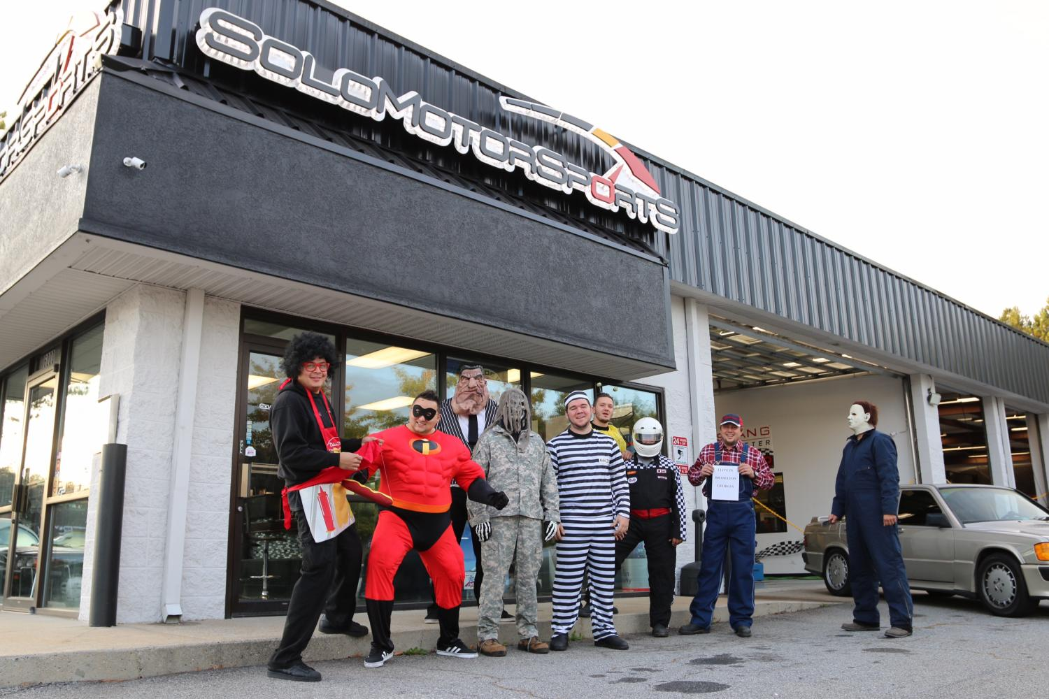 Halloween Party at the Shop