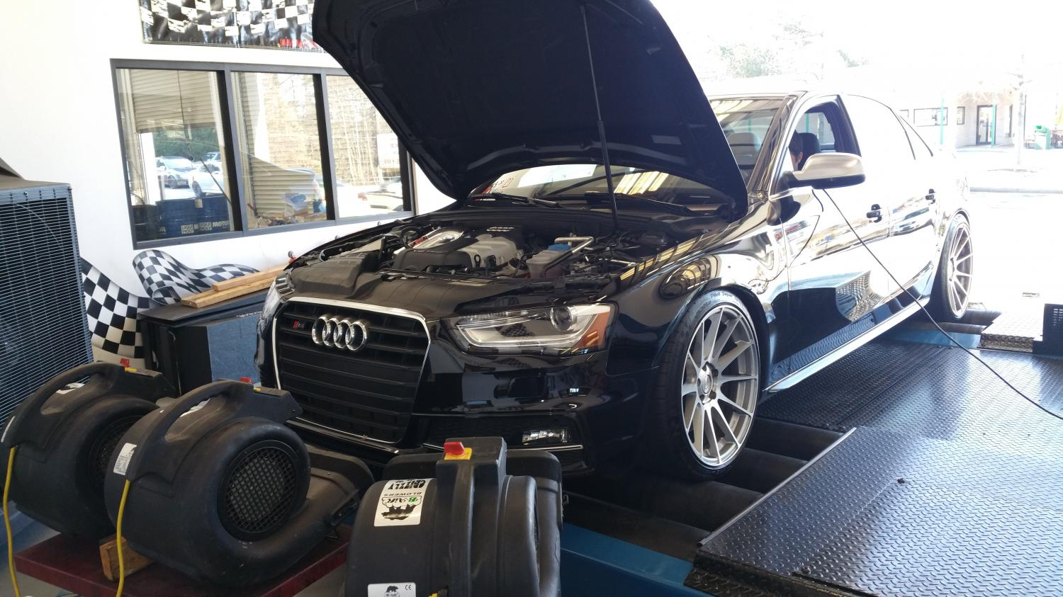 B8.5 S4 is in for custom tuning..