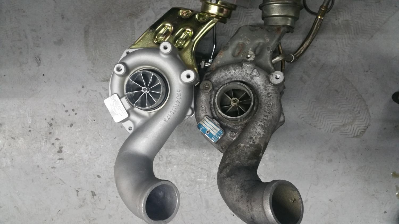Audi C5 RS6 4.2 Liter Turbo upgrade