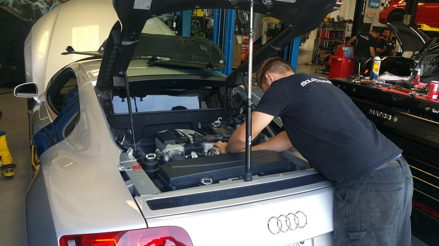 Audi R8 Tuning and Service