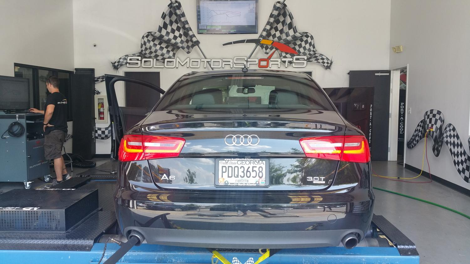 2013 A6 3.0T in for Tuning