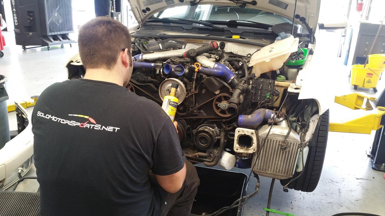 Audi 2.7 timing belt service