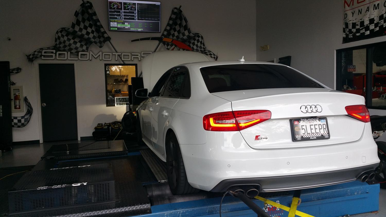 B8.5 S4 E85 custom tuning