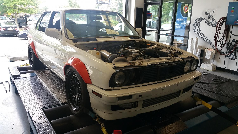 E30 S54 Turbo....