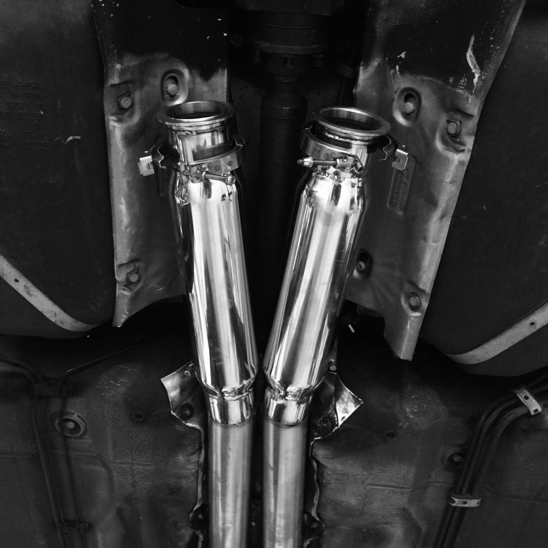 A6 Avant  2.7t custom exhaust !