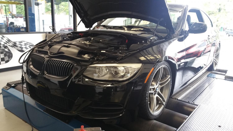 BMW 335is custom tuning