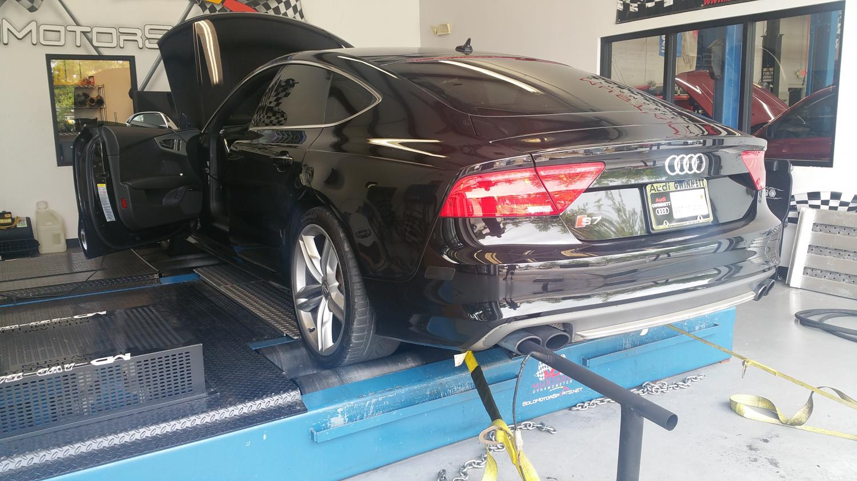 Audi S7 - custom tuning