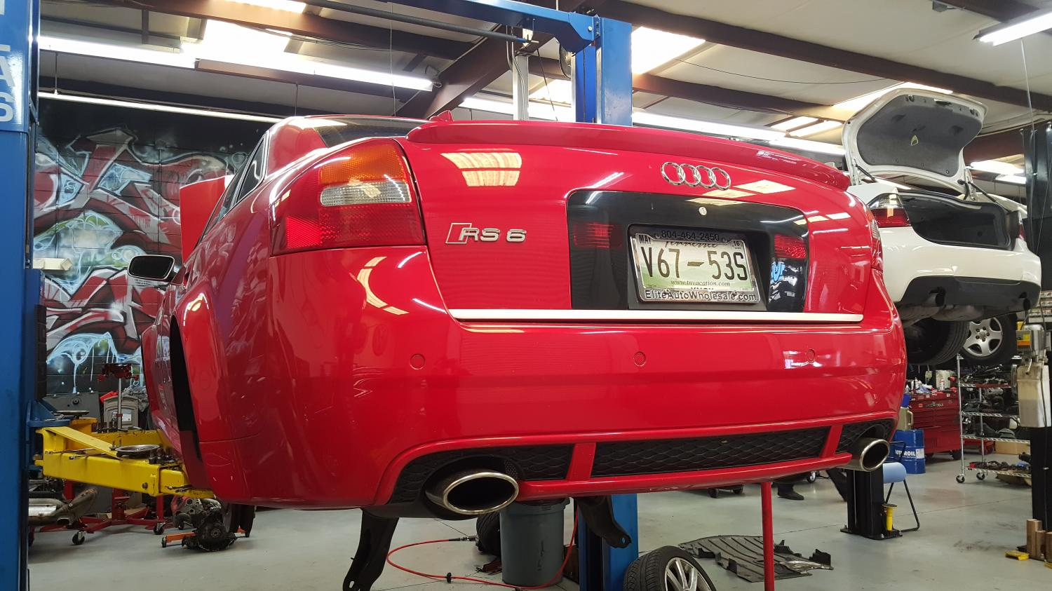 C5 RS6 Coilover conversion
