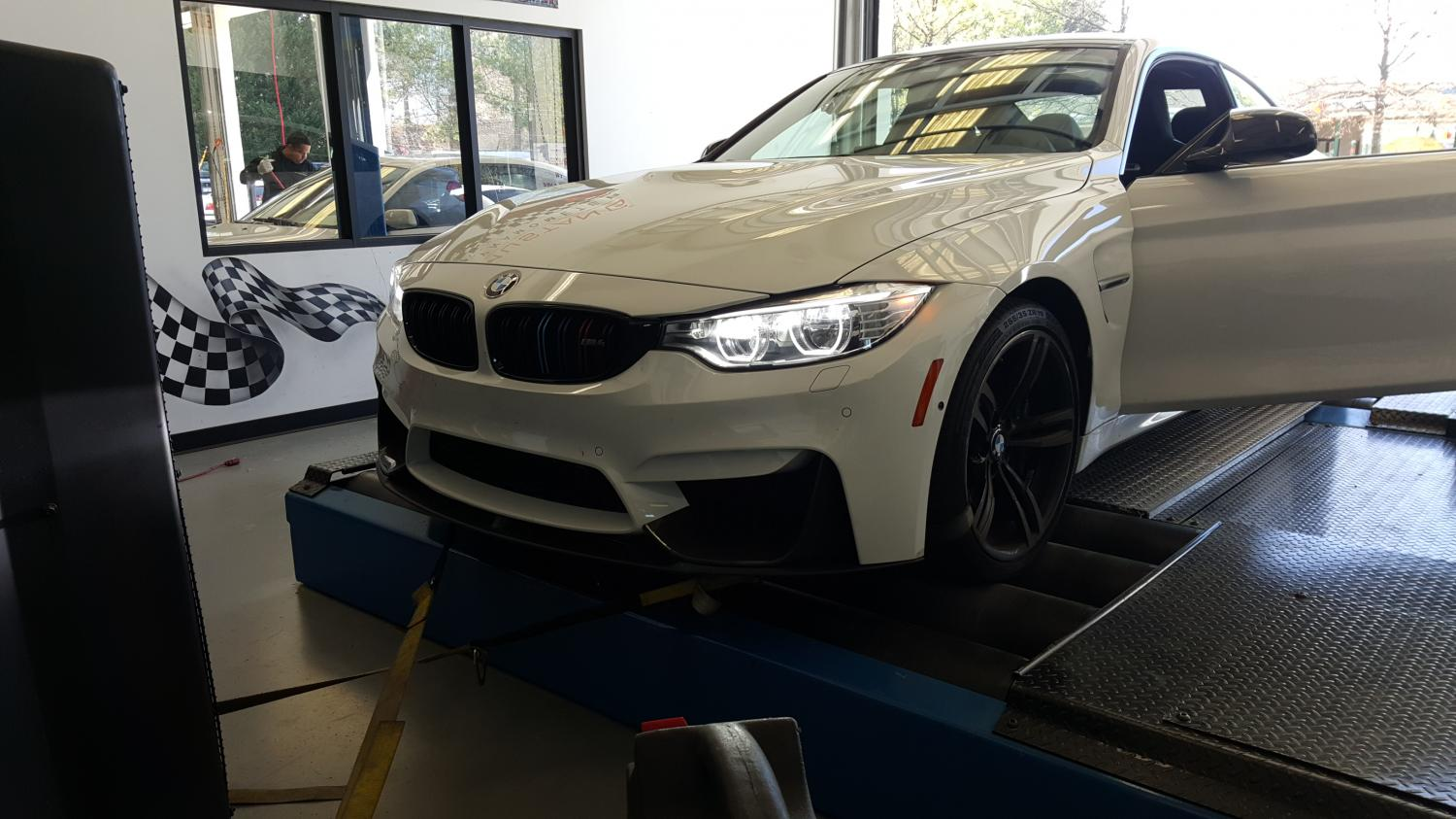 M4 in for Dyno testing