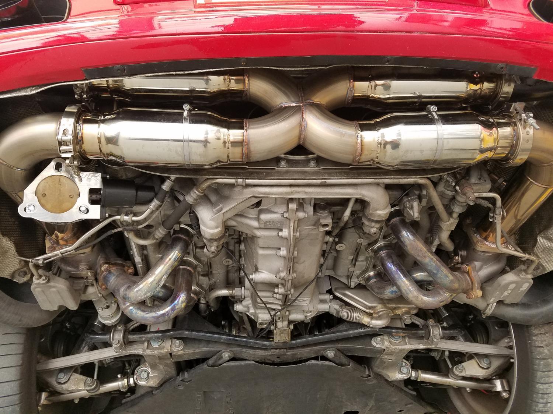 997 Turbo Custom Exhaust