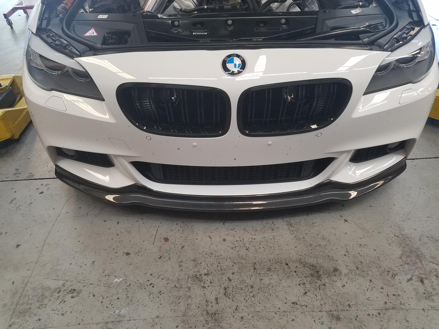 550i in for service