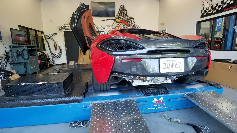 McLaren 570s in for Tuning