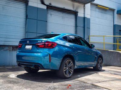 Quick Flash | SMSTuned Atlantis Blue BMW F16 X6 M