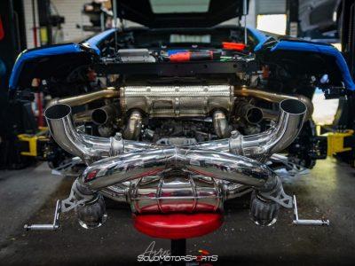 Installation: Capristo Valved X Pipe Exhaust Lamborghini Huracan Evo AWD