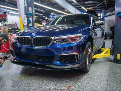 BMW M550i AC Schnitzer Spoiler Installation