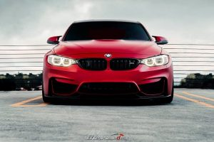 VRSF downpipes Installment   Frozen Red BMW F80 M3