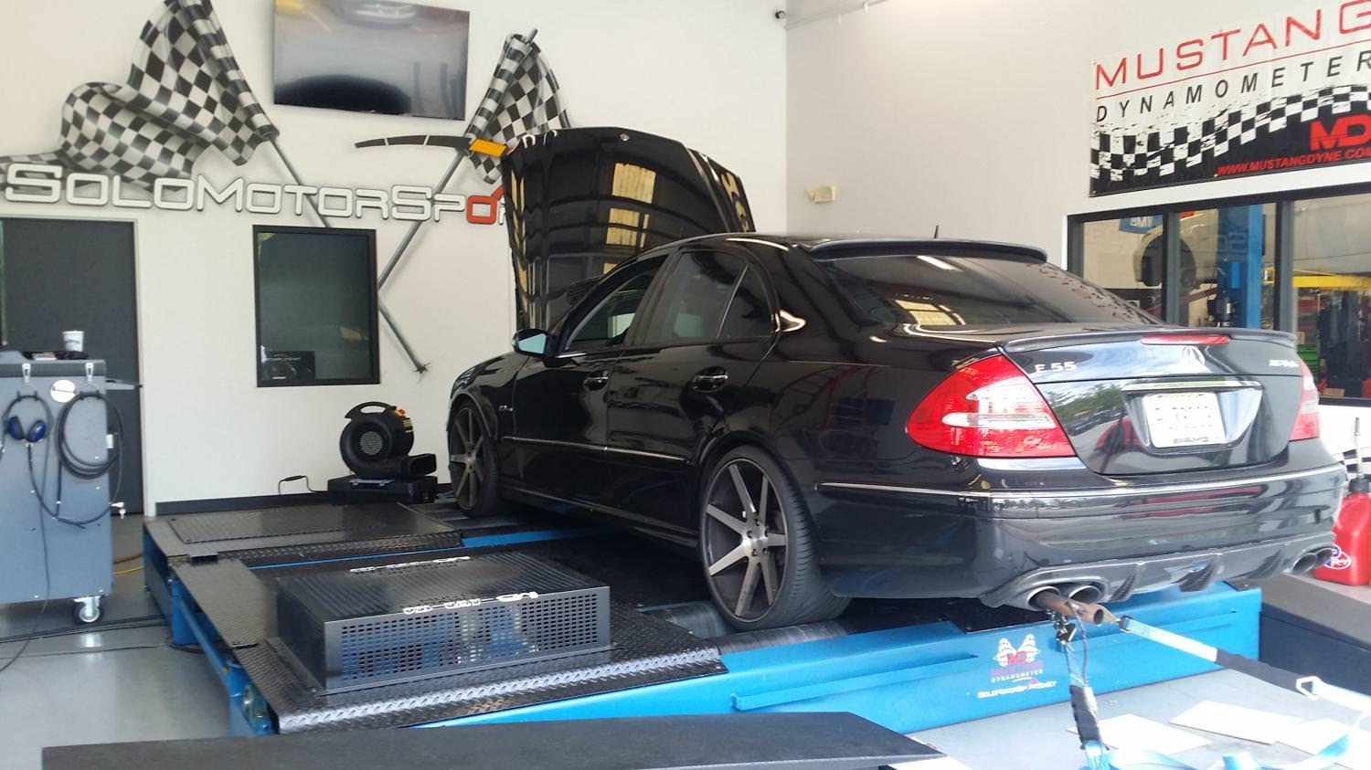 w211 e55 amg custom tuning solo motorsports. Black Bedroom Furniture Sets. Home Design Ideas