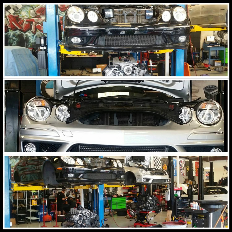 W211 E55 Amg Heart Transplant Solo Motorsports