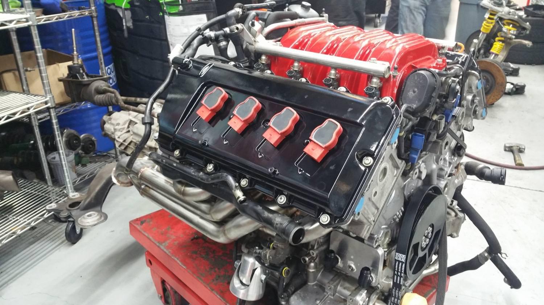 2004 S4 B6 Engine Solo Motorsports