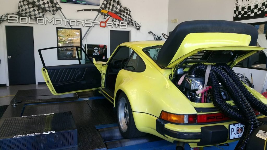 911 Turbo for Dyno