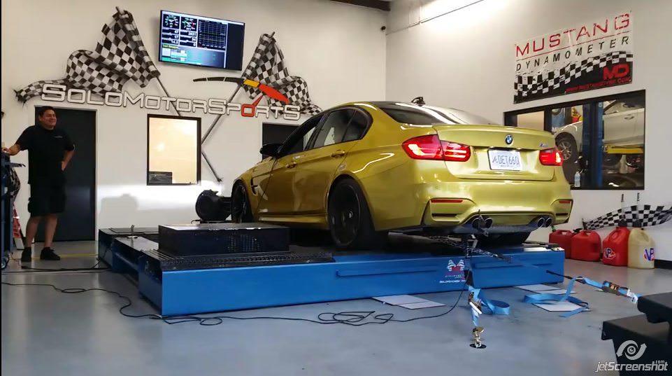 F80 M3 Dyno test   Solo Motorsports
