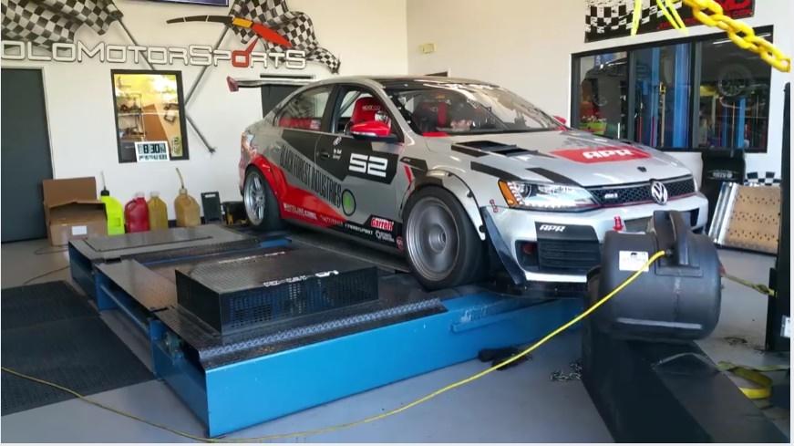 Jetta Gli Full Race Car Solo Motorsports