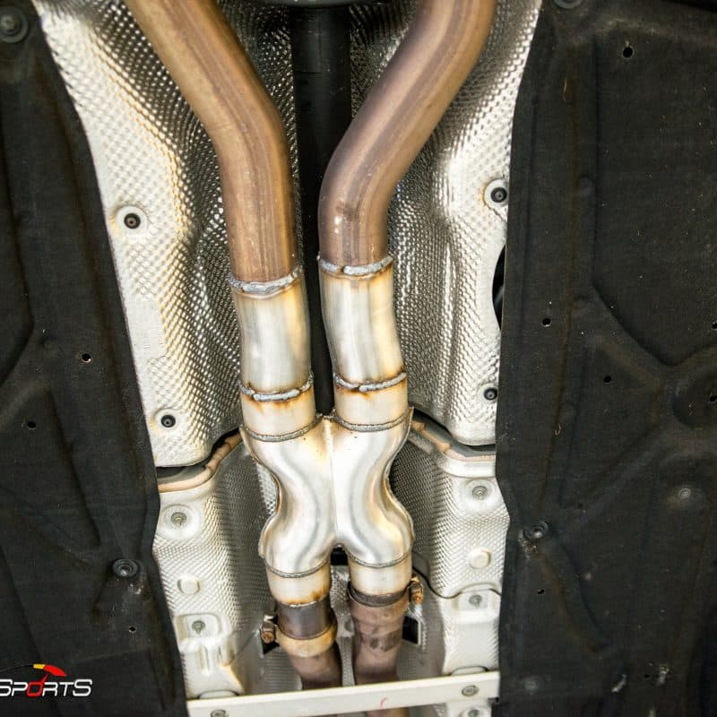 Mercedes-Benz AMG in for Custom Exhaust | Solo Motorsports
