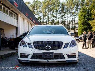 Mercedes-Benz AMG in for Custom Exhaust