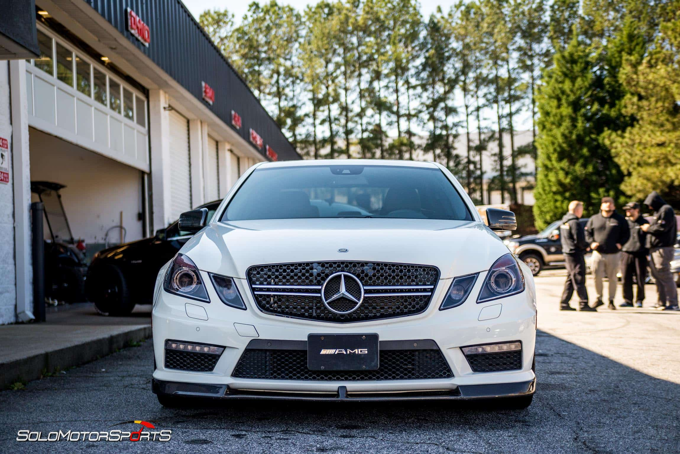 mercedesbenz mercedes mercedes benz amg e63 twinturbo v8 exhaust custom exhaust inhouse fabrication welding fabrication mbusa power atlanta ga one stop shop solo motorsports custom muffler