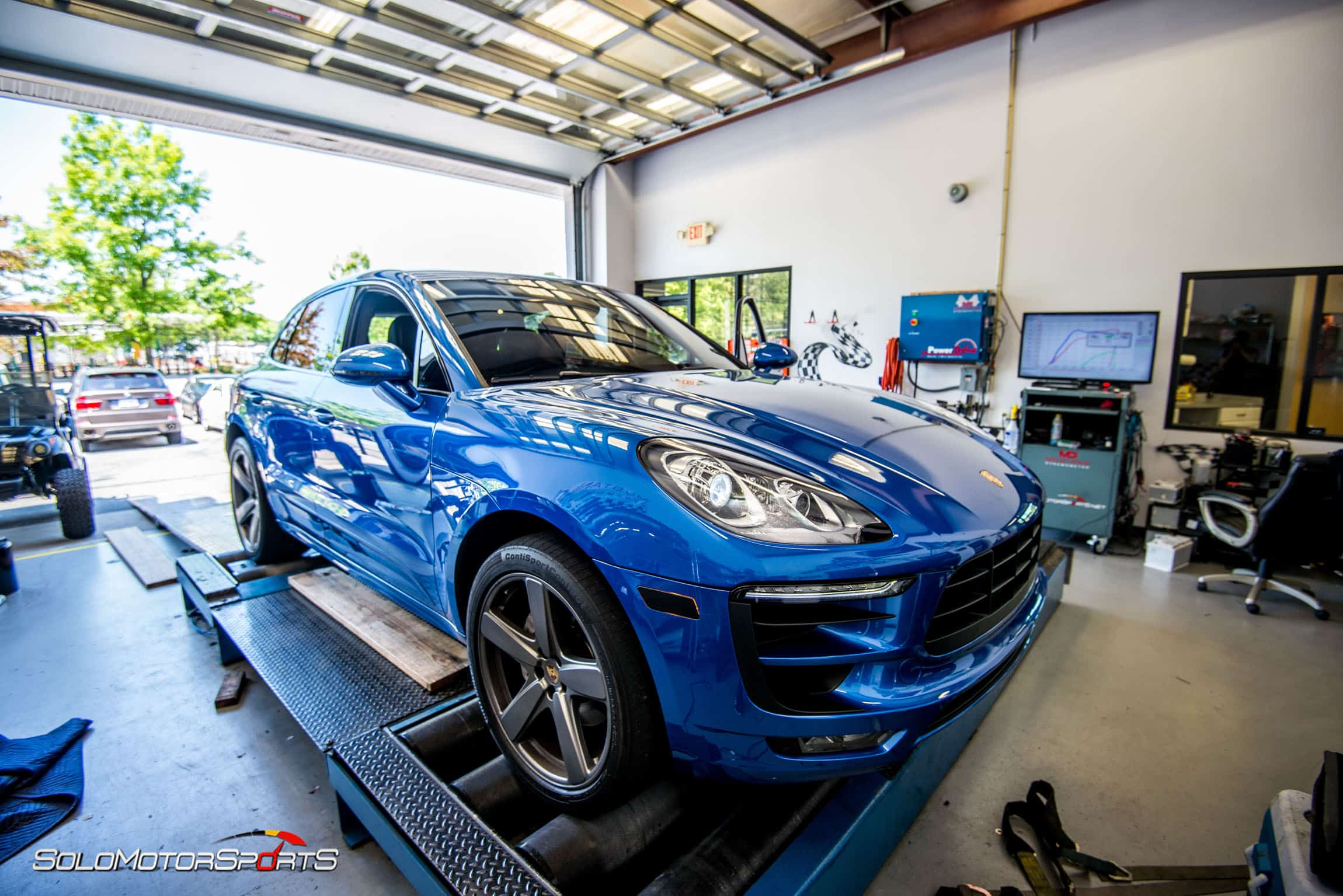Porsche Macan S Custom Tuning Solo Motorsports