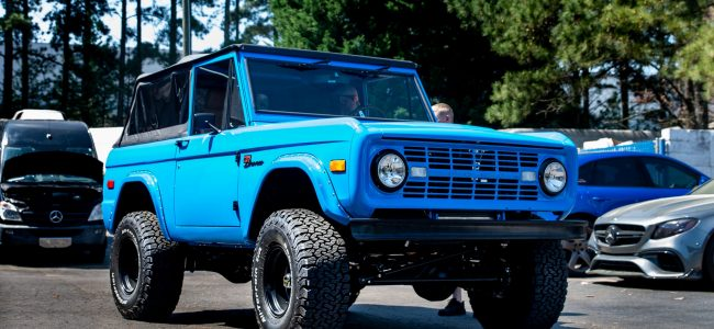 Extreme Restomod: Vintage Bronco built Coyote Swapped Classic Ford Bronco