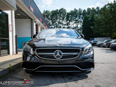 Mercedes S65 AMG with Downpipes and electric cutouts