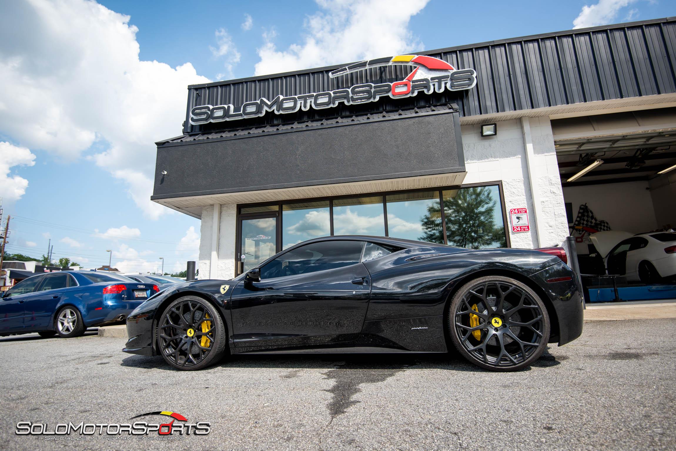 Ferrari, Italia, 458, Brake job, stealership, exotics