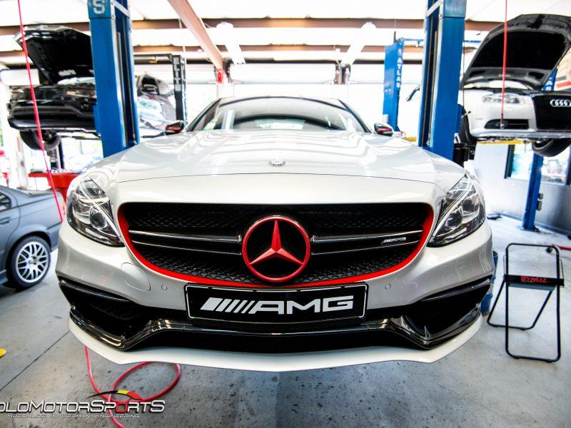 Mercedes-Benz W205 C63S AMG