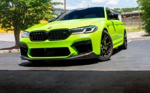 BMW F90 M5 ///M Performance Carbon Front Splitter Install