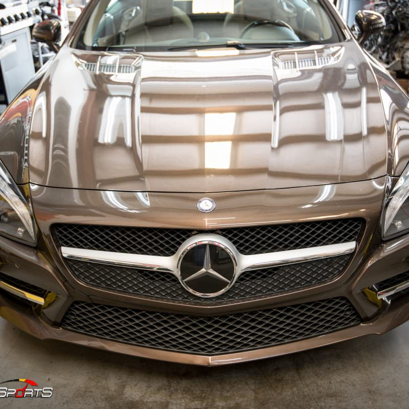 sl550, mercedes tune, atlanta tuning, v8 twin turbo, downpipe install, one stop shop, twinturbo, v8, dowbnpipe, downpipe, bigpower