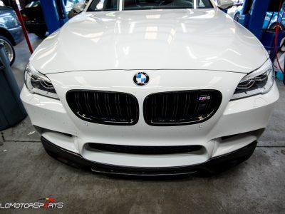 BMW M5 Lip Spoiler Install