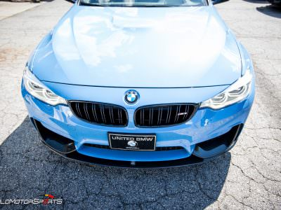 BMW F80 M3 in for Akrapovic Exhaust and Carbon Fibre jewelry bits