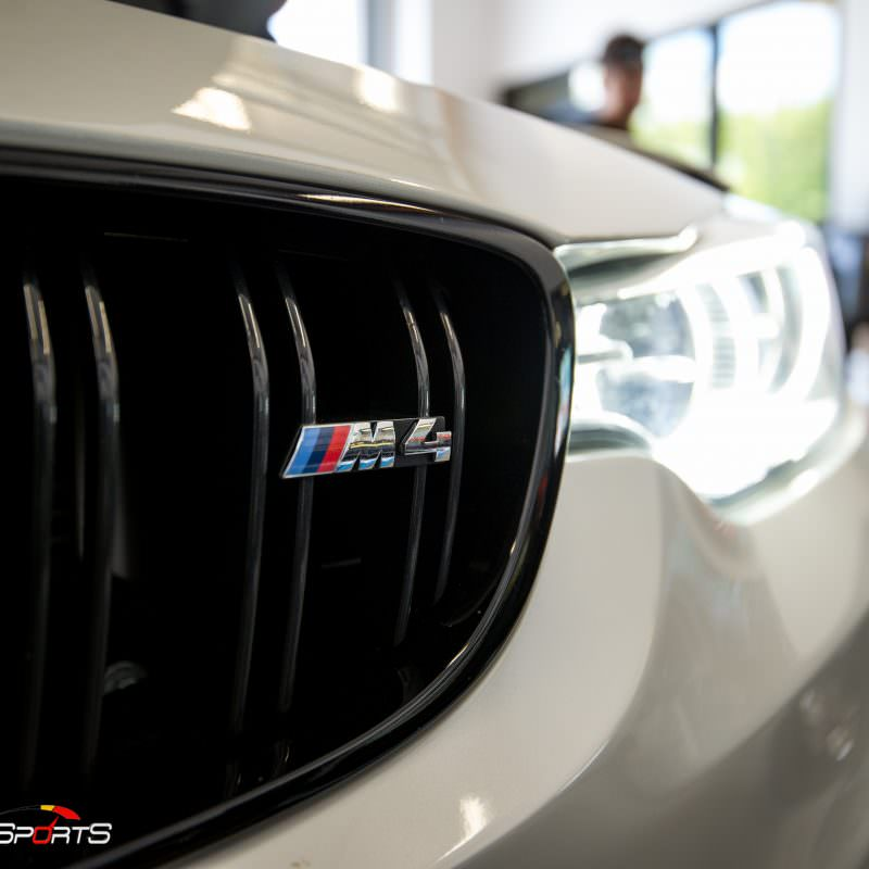 F82 BMW M4 in for Custom Solo Motorsport Tune. We removed previous Dinan Tune and tuned it by Solo Motorsports Master Technician