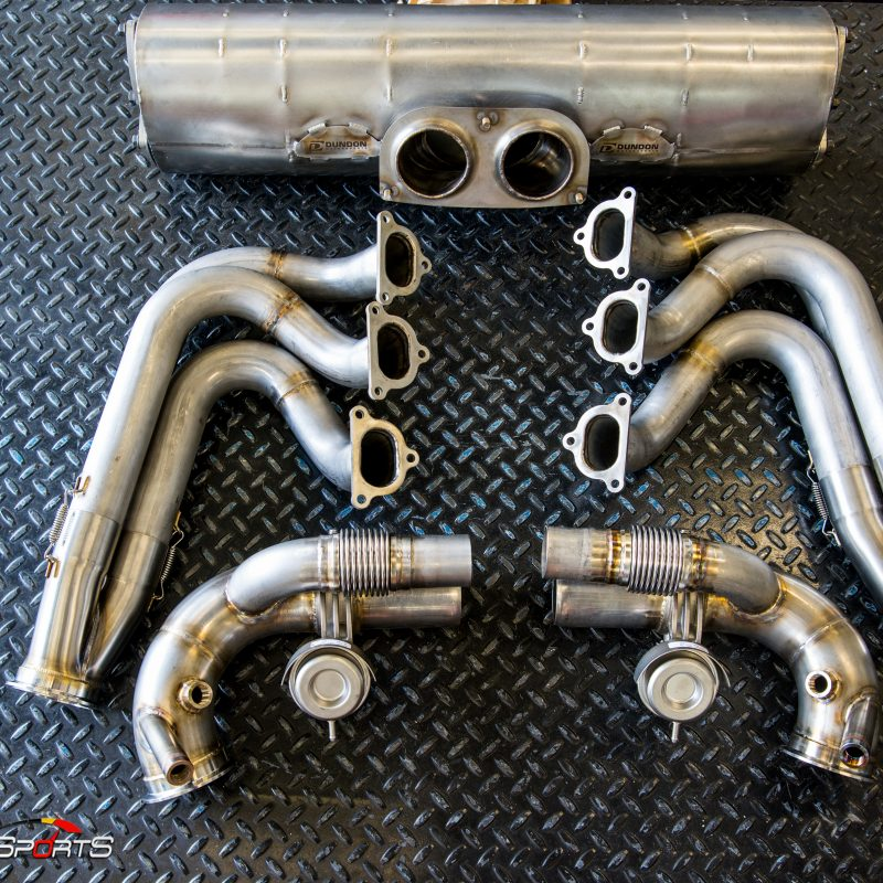 porsche 911 991 991.1 gt3 gt3rs gt3 rs headers exhaust dundon motorsports solo motorsports atlanta georgia fabrication custom exhaust power gaines dyno dynometer one stop shop porscheatlanta installation service power