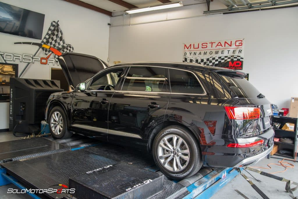 audi q7 3.0t custom tuning first in the world customtune tune 4m solo motorsports quattro governer speed limiter atlanta services performance motorsport