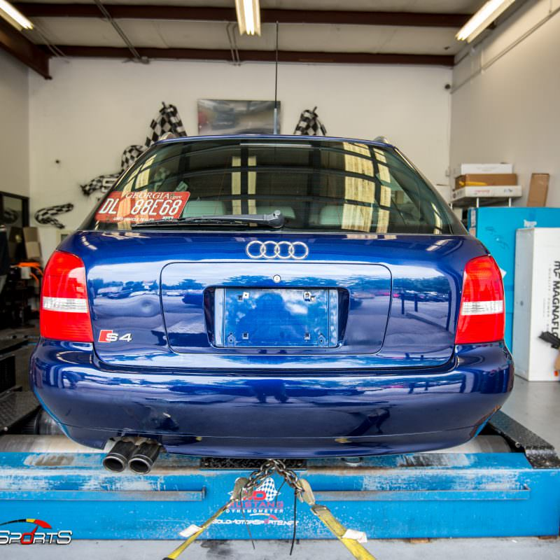 Audi S4 B5 In For Dyno Run Solo Motorsports