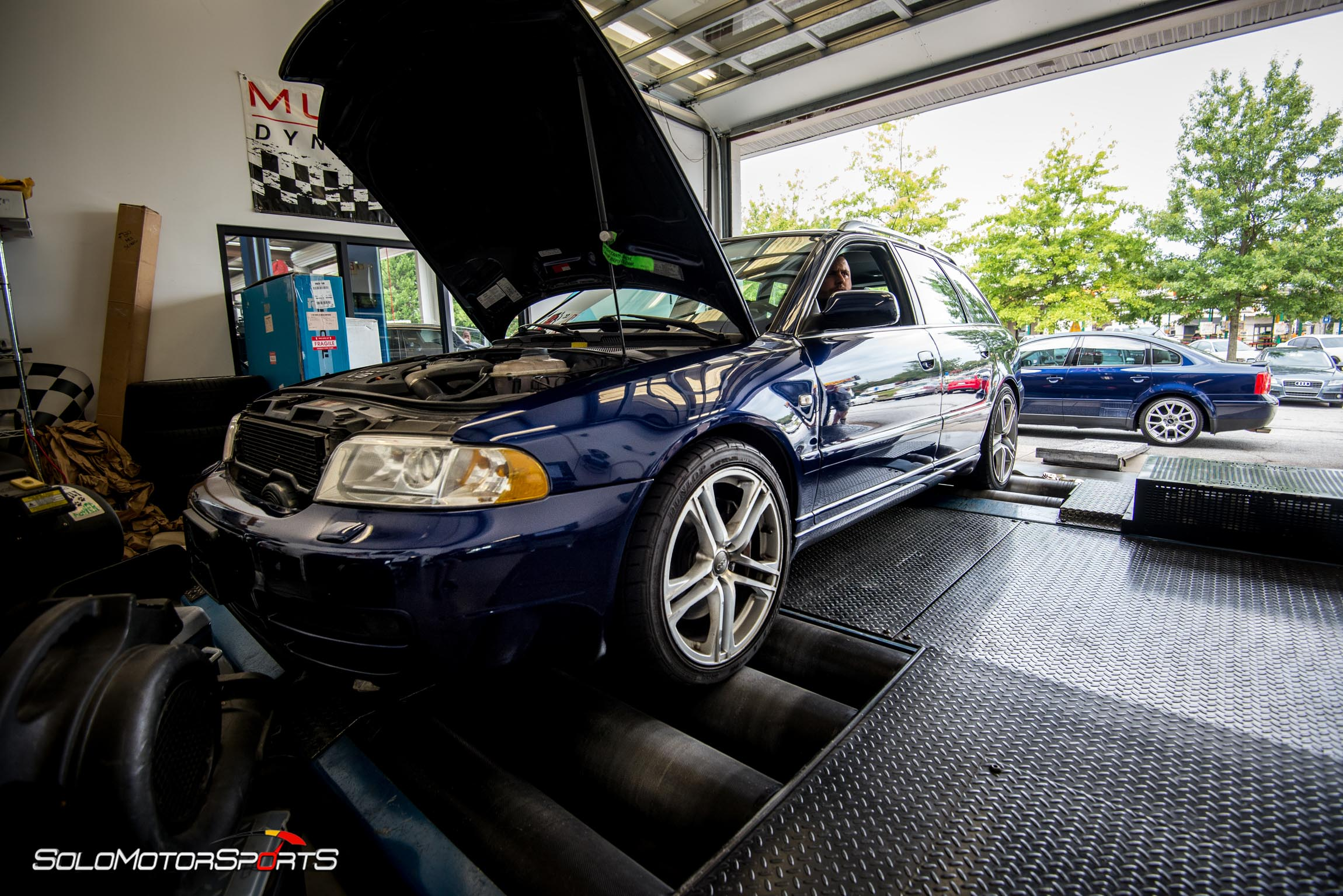 audi s4 b5 in for dyno run solo motorsports. Black Bedroom Furniture Sets. Home Design Ideas