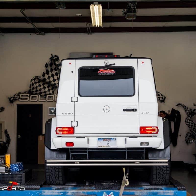 mercedes mercedesbenz benz amg gwagon g wagon g550 4x4 offroad service maintenance wheel alignment tires coding electrical atlanta solo motorsports performance custom