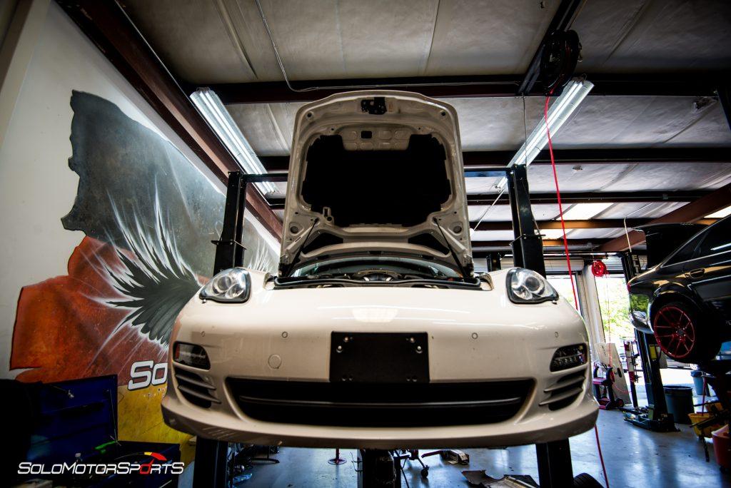 Porsche Panamera 4S in for Custom Exhaust