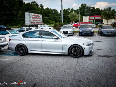 BMW 550i in for new Wheels and Tires