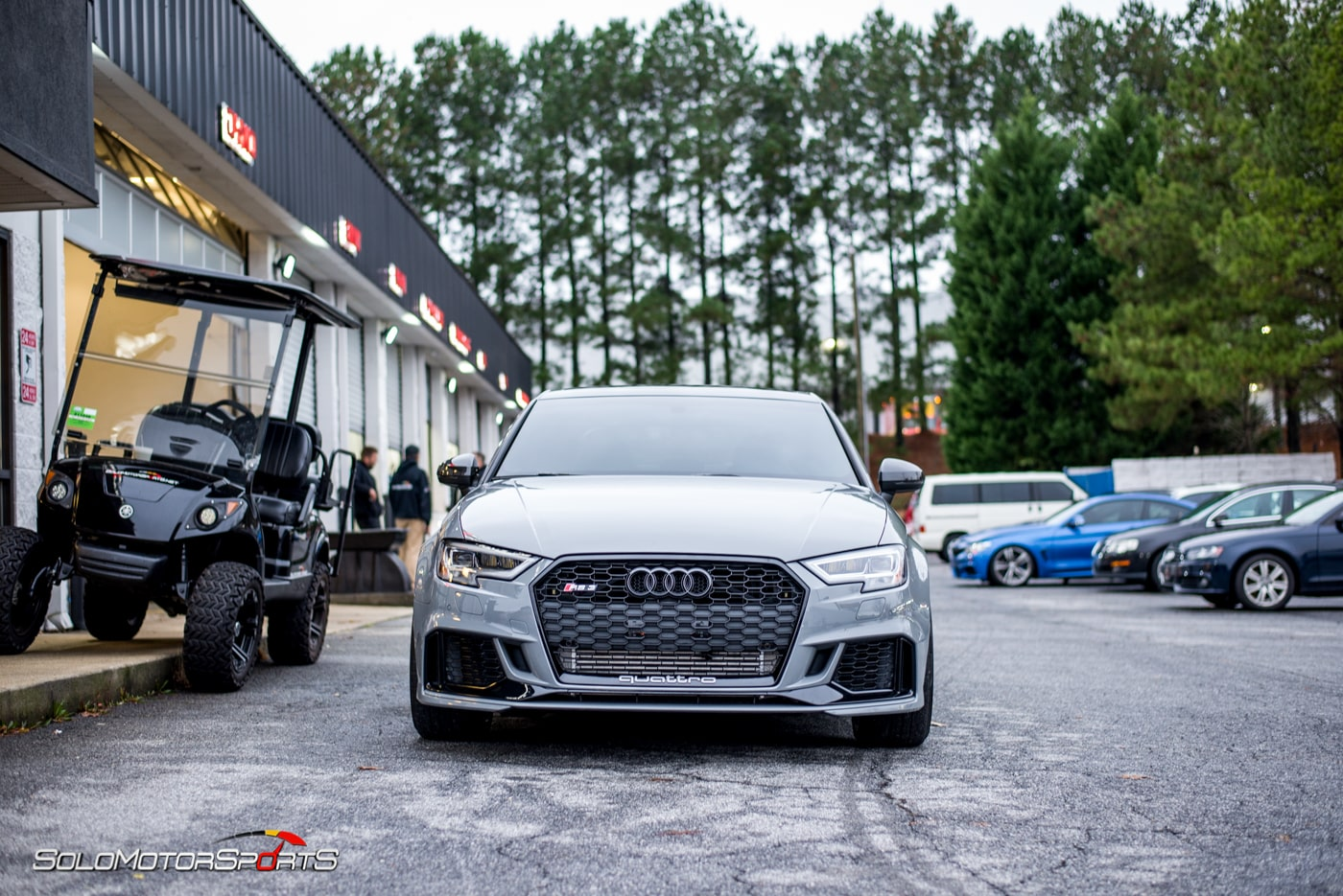 4 Rings To Rule Them All Audi Rs3 Pt Ii The Tuning Solomotorsports