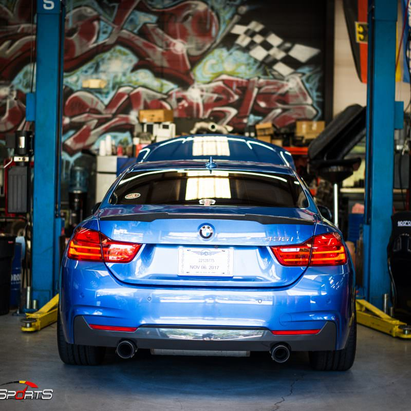 bmw 435i f32 in for diagnostics and inspection solo motorsports is the ultimate shop in atlanta maintenance bmw performance