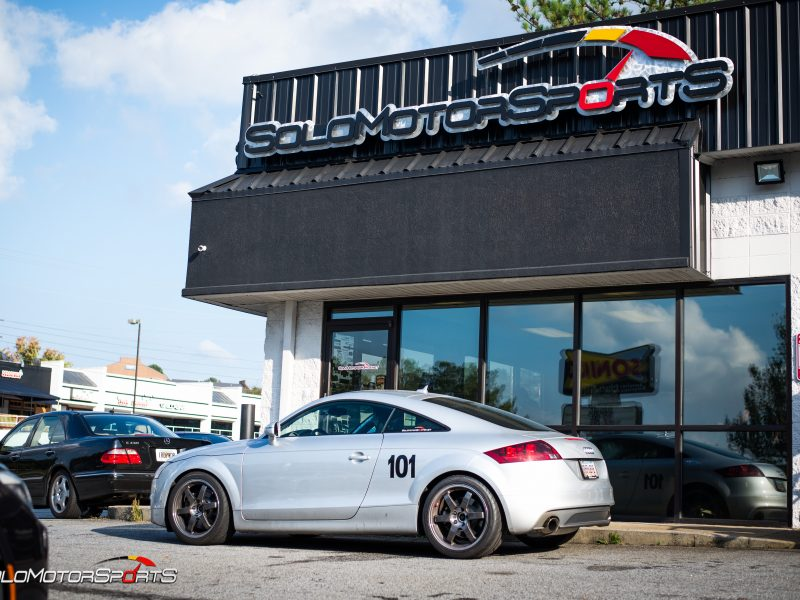 Race-Ready Audi TT