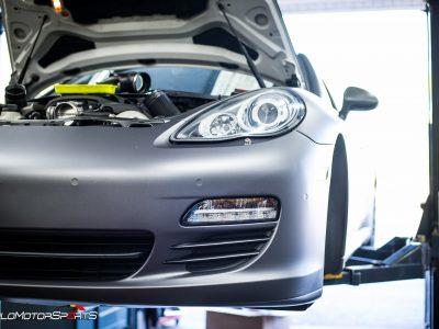 Porsche Panamera 4S in for SMS Tune
